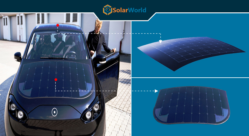 Now a Solar-Powered Car on its Way