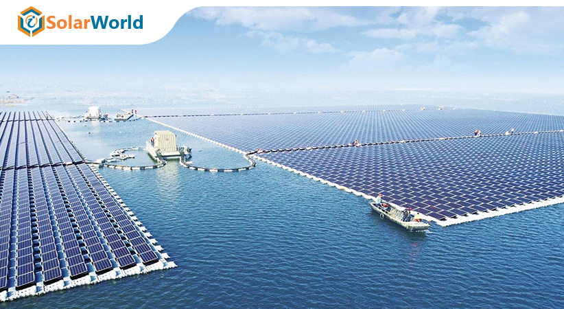 floating solar panels, current innovations, US solar Industry