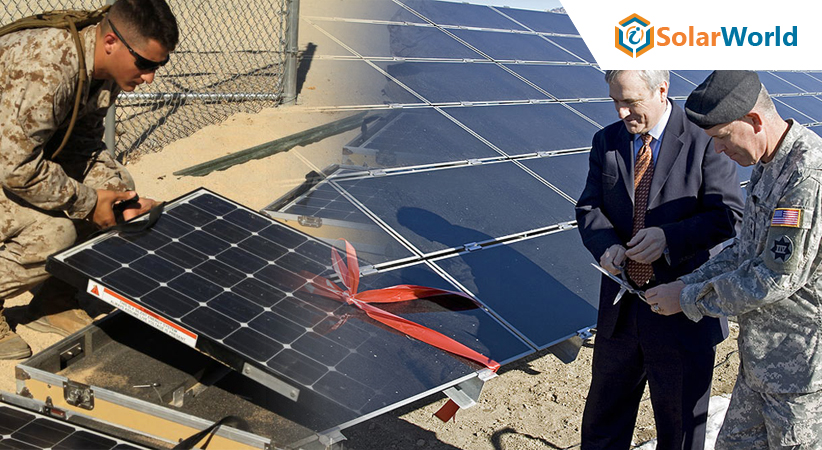 US Army Move Towards Solar Energy