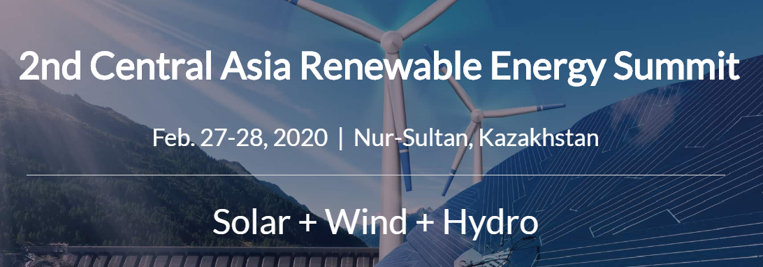 2nd Central Asia Renewable Energy Summit logo
