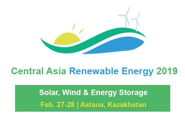 Central Asia Renewable Energy Summit 2019 logo