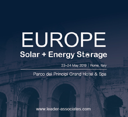 Europe Solar + Energy Storage Congress 2019 logo