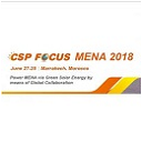 CSP Focus MENA 2018 June 27-28 Marrakech Morocco logo