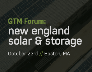 GTM Forum: New England Solar & Storage logo