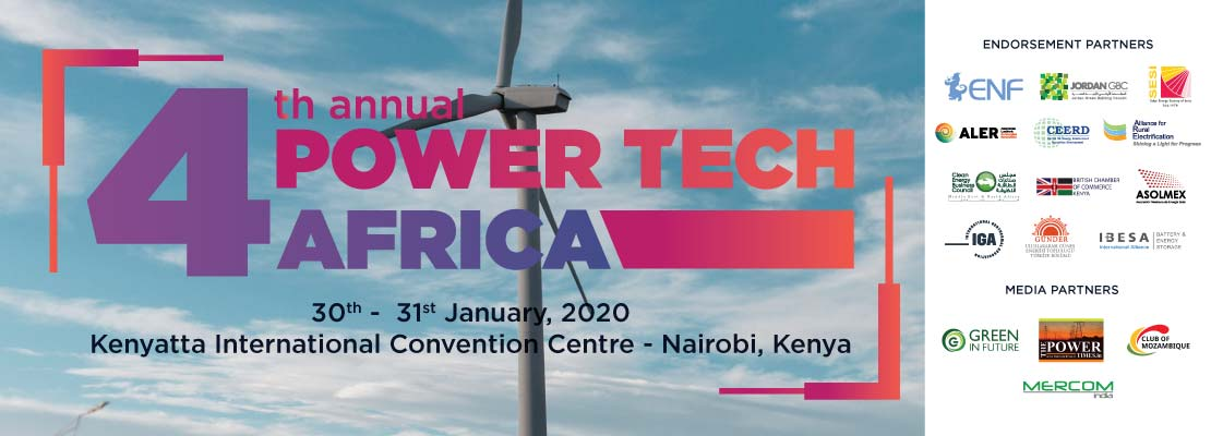 4th Annual Power Tech Africa 2020 logo