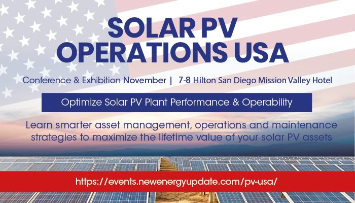 4th Solar PV Operations USA 2018 Conference, San Diego logo