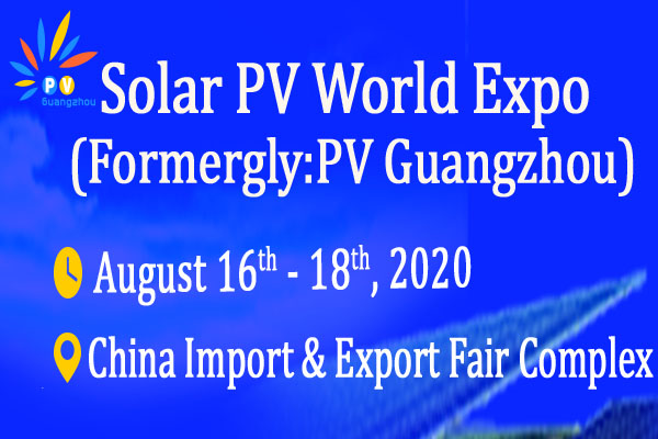 Solar PV World Expo 2020 logo