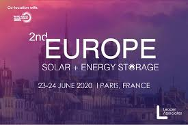 2nd Annual Europe Solar + Energy Storage Congress logo