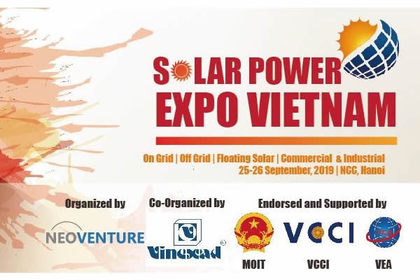 Vietnam Solar Power Expo 2019 logo