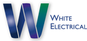 White Electrical logo
