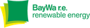 BayWa r.e. renewable energy logo