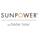SunPower by Stellar Solar logo