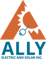 ALLY Electric and Solar Inc logo