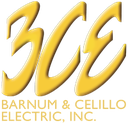 BCE Barnum & Celillo Electric logo